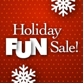 Enjoy Holiday Savings!