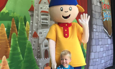 Caillou walk around character