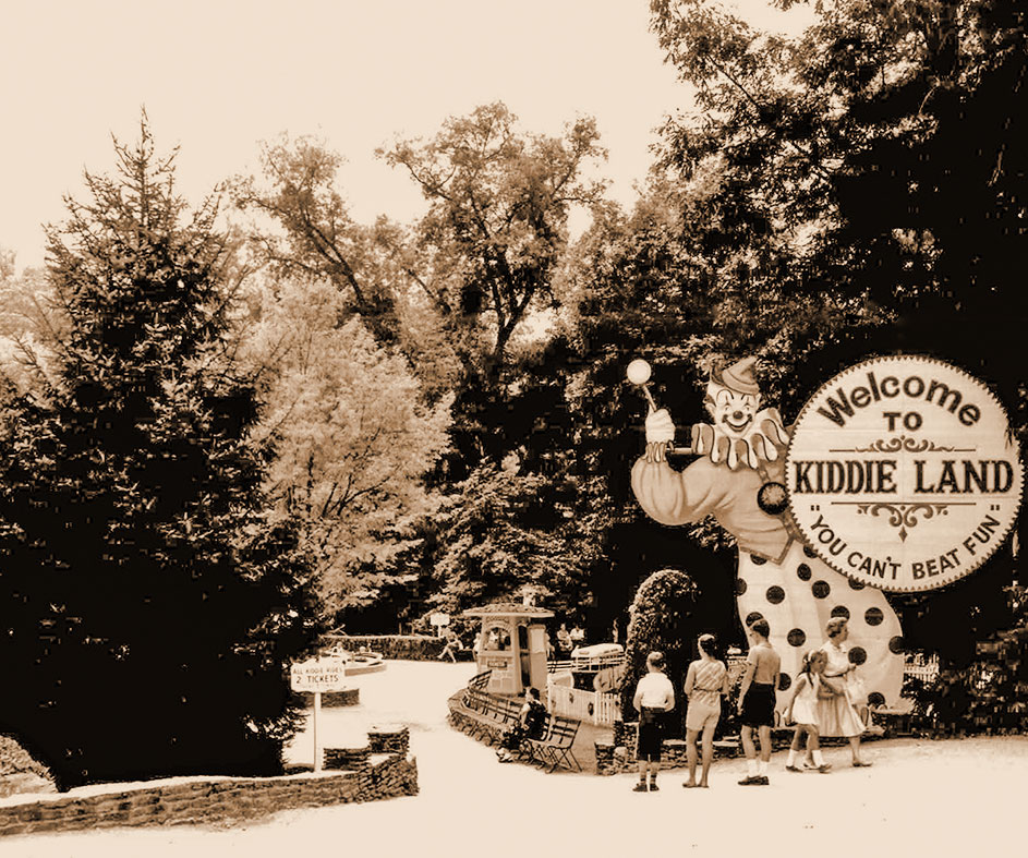 Historical photo of Idlewild circa 1950