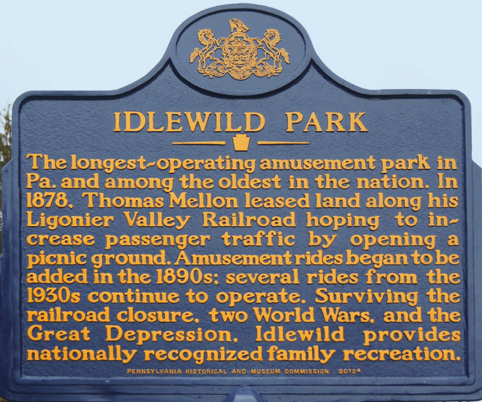Idlewild historical commemoration plaque