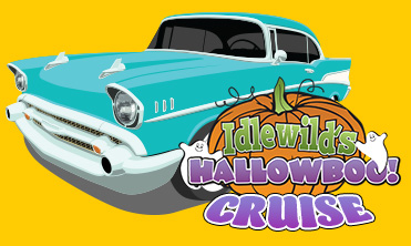 Artwork and logo for Hallowboo hot rods