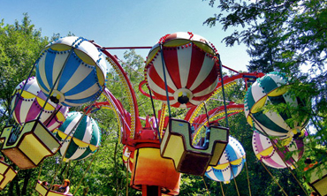 Balloon Race ride at Idlewild